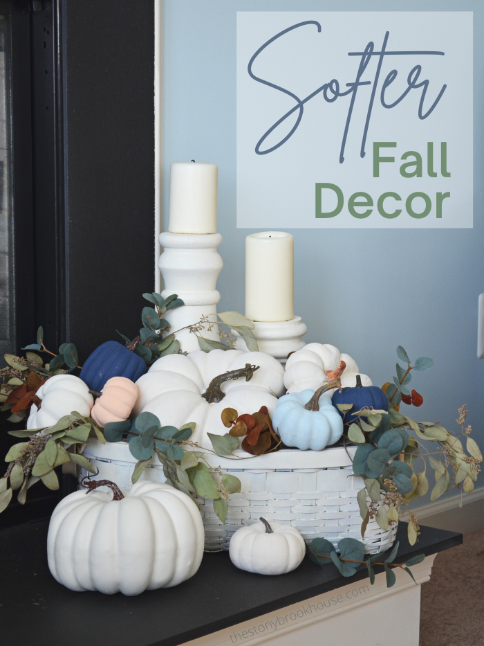 Softer and Lighter Fall Decor