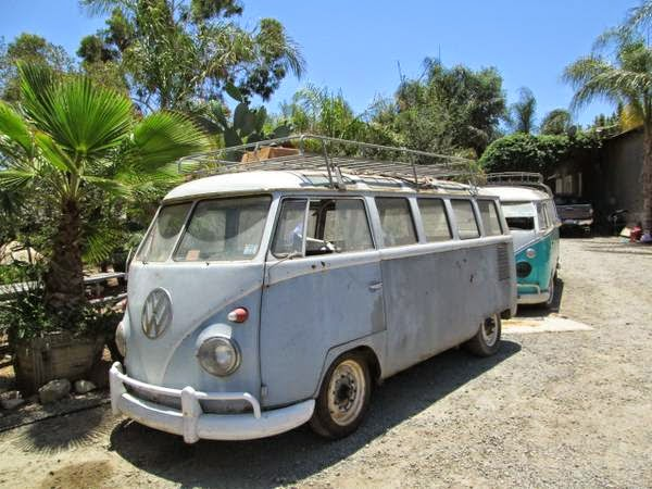 two 23 window buses for sale vw bus wagon. Black Bedroom Furniture Sets. Home Design Ideas
