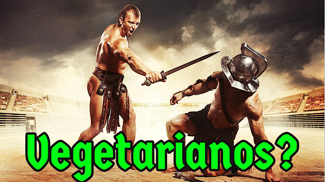 Os Gladiadores eram vegetarianos?