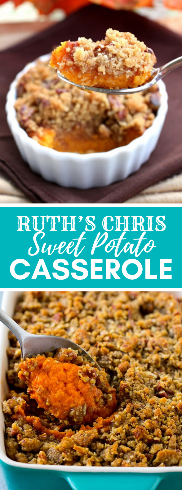 RUTH'S CHRIS SWEET POTATO CASSEROLE #dinner #healthy