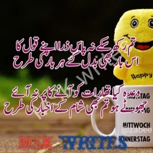Funny Poetry In Urdu For Students