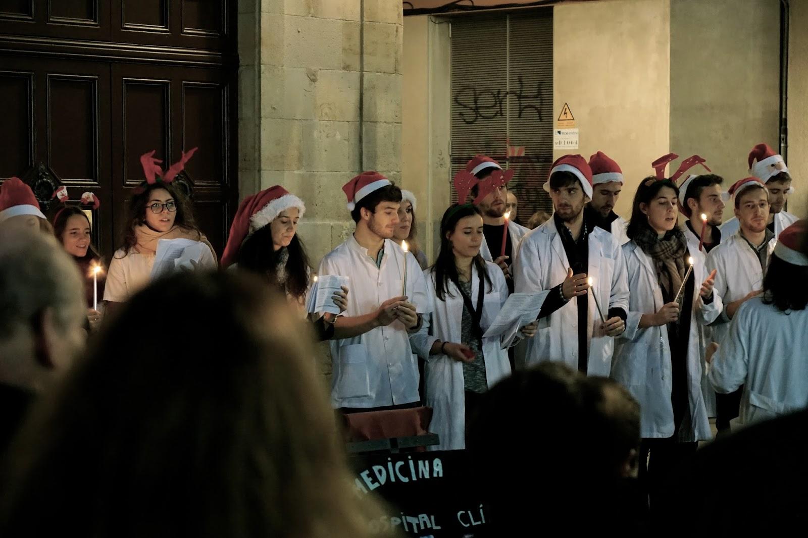 バルセロナのクリスマス・マーケット(Fira de Santa Llúcia)
