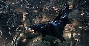 Batman Arkham Knight Gliding