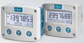 Flow rate Monitor and Totalizer Fluidwell F018