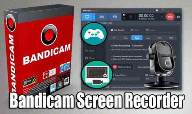 تحميل وتفعيل برنامج Bandicam 5.1.0.1822 عملاق تصوير سطح المكتب والالعاب بجودة عالية اخر اصدار