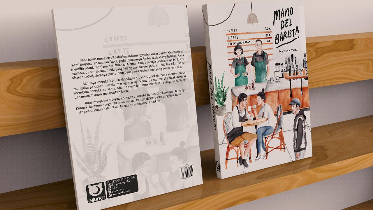 Mano Del Barista (novel) ~ Ellunar Publisher