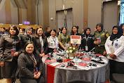 Srikandi Bakamla RI-IDNCG Ikut Pertemuan Penegak Hukum Wanita Se-Asia