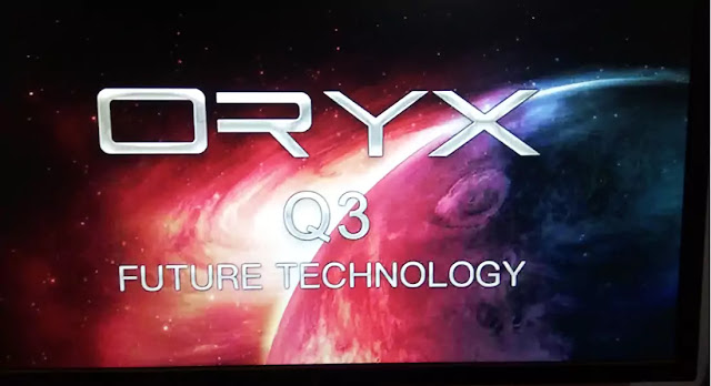 ORYX Q3 1506TV 512 4M BUILT IN WIFI NEW SOFTWARE 22 APRIL 2021