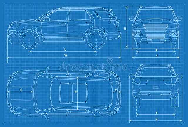 Светокопия схемы кроссовера SUV