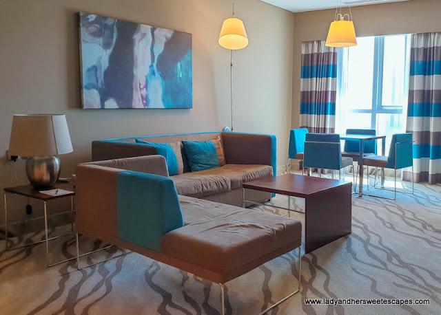 Novotel Al Barsha hotel room