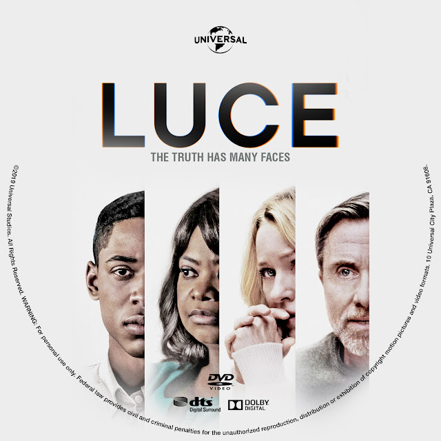 Luce DVD Label