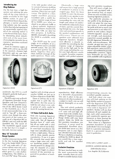 Choosing Your Precision Transducer - JBL Hartsfield