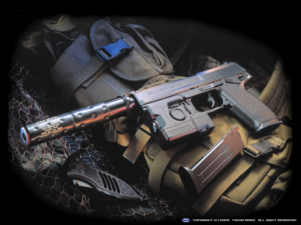 Desktop Wallpapers HD: Gun Wallpaper