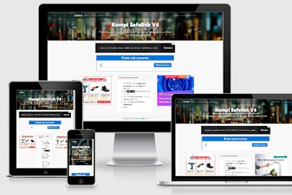 Download Kompi Safelink v4 Template Blogger - Responsive