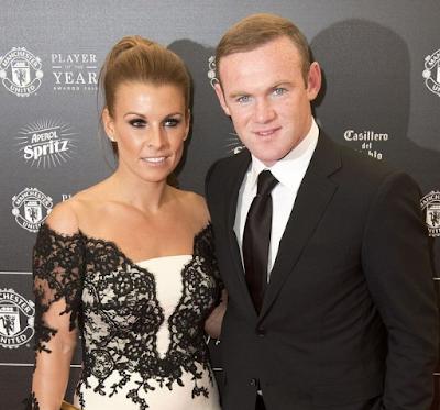 Wayne Rooney Dengan Coleen