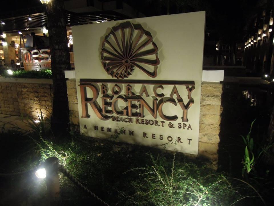 Boracay Regency Hotel (Henann Regency Resort and Spa) marker