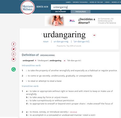 Definición de Urdangaring