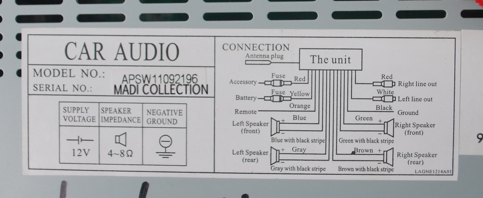 And Wiring Diagram Simply Wire To Your Radio Plug