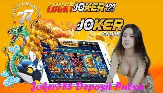 Joker388 Deposit Pulsa Aplikasi Dana Dan LinkAja