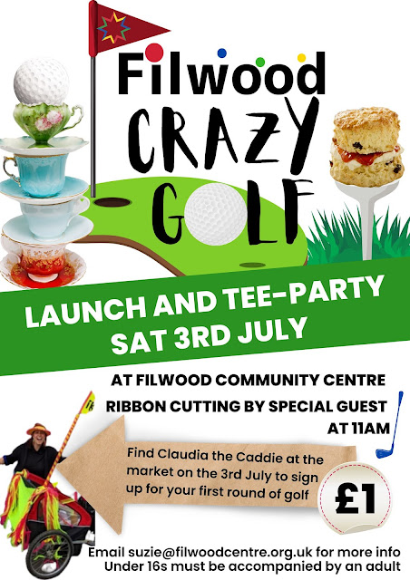 Filwood Fantastic Mini Golf Club's new course is opening on Saturday 3rd July 2021