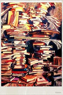 Resultado de imagem para livros esquecidos na sujeira