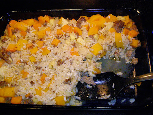 Sausage and Squash Casserole