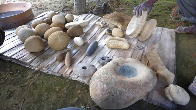 Prehistoric artefacts suggest a Neolithic era independently developed in New Guinea