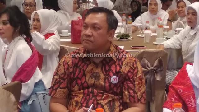 Sehari Sebelum Di-OTT KPK, Bupati Pakpak Bharat Hadiri Acara Dukung Jokowi