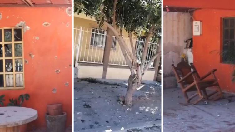 """Convoy de sicarios de """"Los Salazar"""" causaron pánico en Bácum, Sonora: Rafaguearon con AK-47 varias casas y autos del Ayuntamiento"""