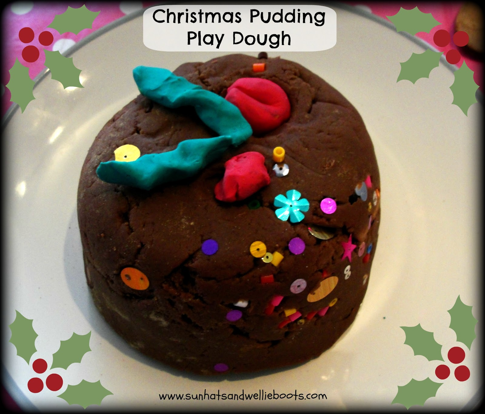 Sun Hats Amp Wellie Boots Christmas Pudding Play Dough