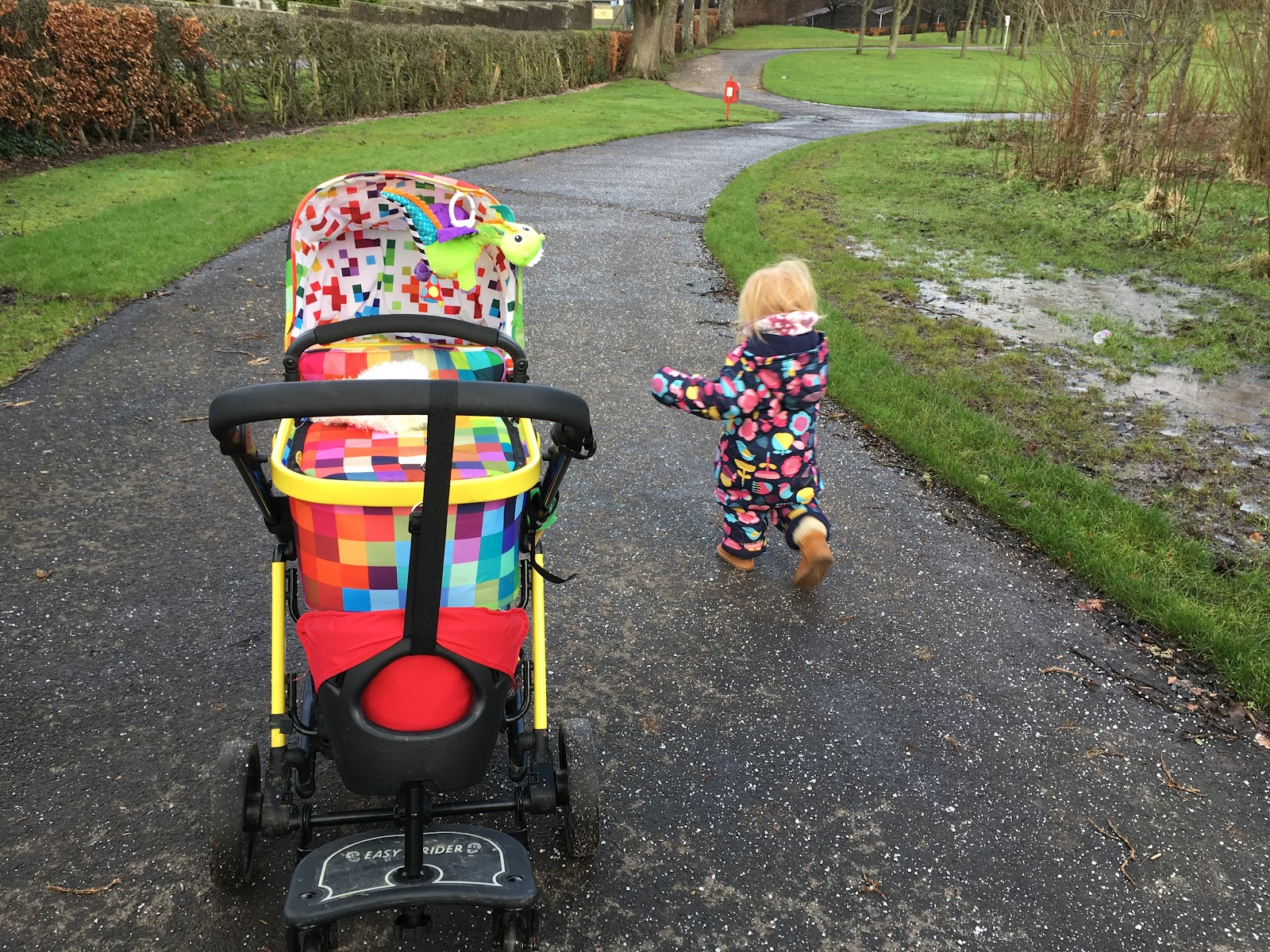 When We Got The Board Delivered Which Was Super Quick Delivery I Attached It To Pram And Tested M In She So Excited Made Me Walk