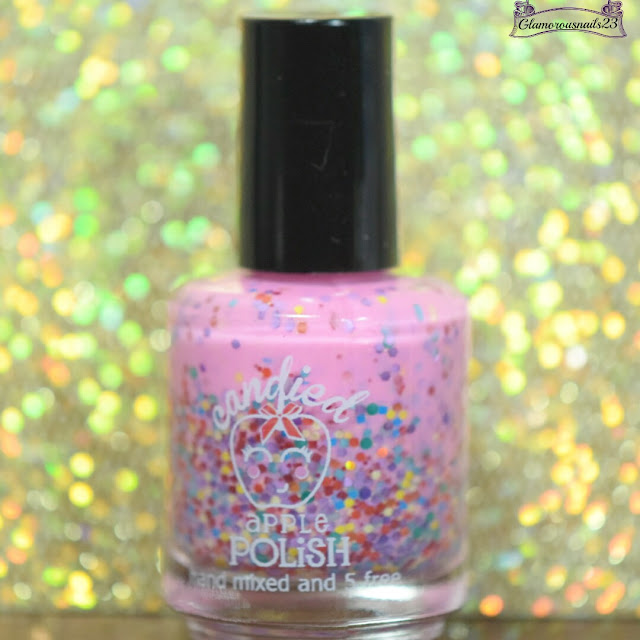 Candied Apple Polish Tickled Pink