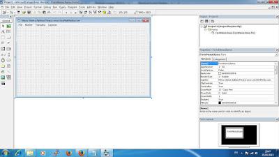 Membuat Koneksi Database Aplikasi Perpus VB 6.0