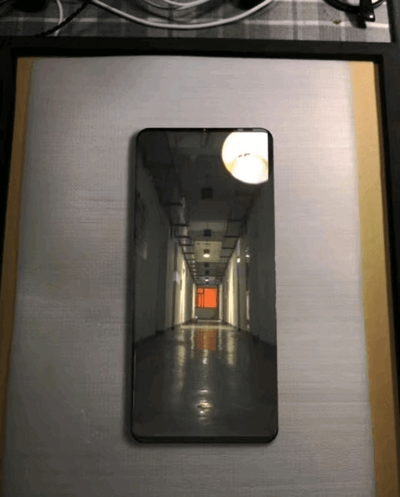 Is this the Huawei Mate 20 Pro? A flagship with no notch?