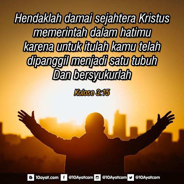 Kolose 3:15