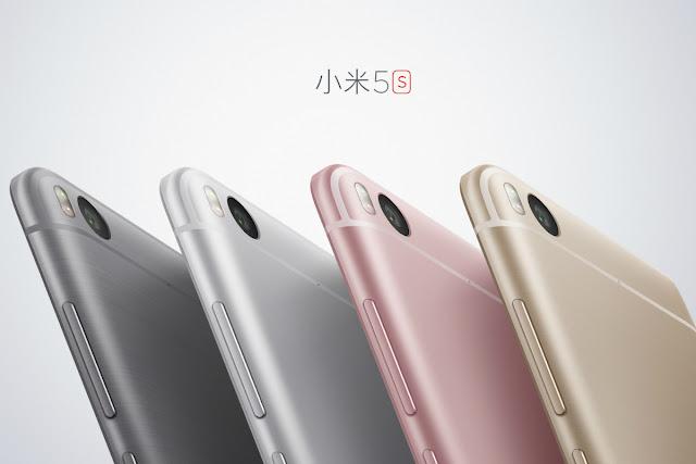 Spesifikasi dan Harga Xiaomi Mi 5s