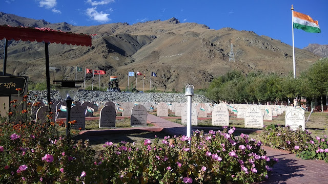 Leh Ladakh Bike Trip, Kargil War Memorial