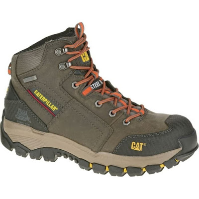 Sepatu Safety Caterpillar Navigator Mid ST Waterproof grey Original