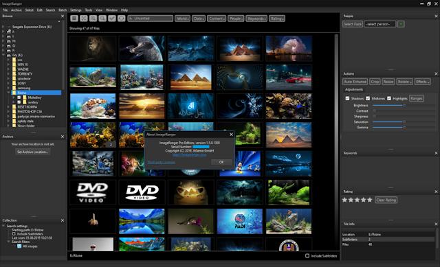 ImageRanger Pro 1.6.5.1465 - Phần mềm chỉnh sửa ảnh