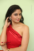 Actress Zahida Sam Latest Stills in Red Long Dress at Badragiri Movie Opening .COM 0106.JPG
