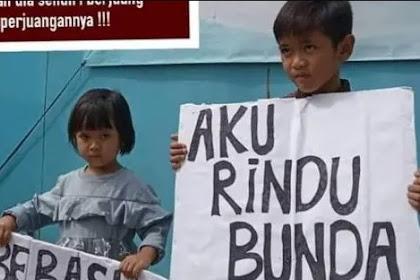 Viral 2 Anak Aktivis Buruh Minta Ibu Dibebaskan: Aku Rindu Bunda