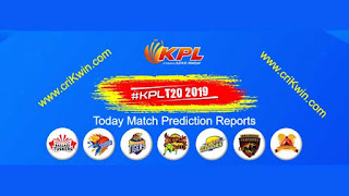 KPL T20 2019 Belagavi Panthers vs Bellary Tuskers 3rd Match Prediction Today