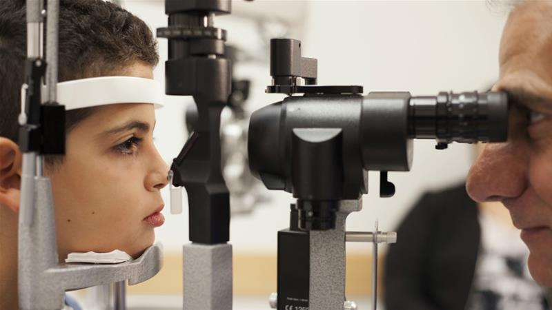 1 billion people suffer from preventable eye conditions