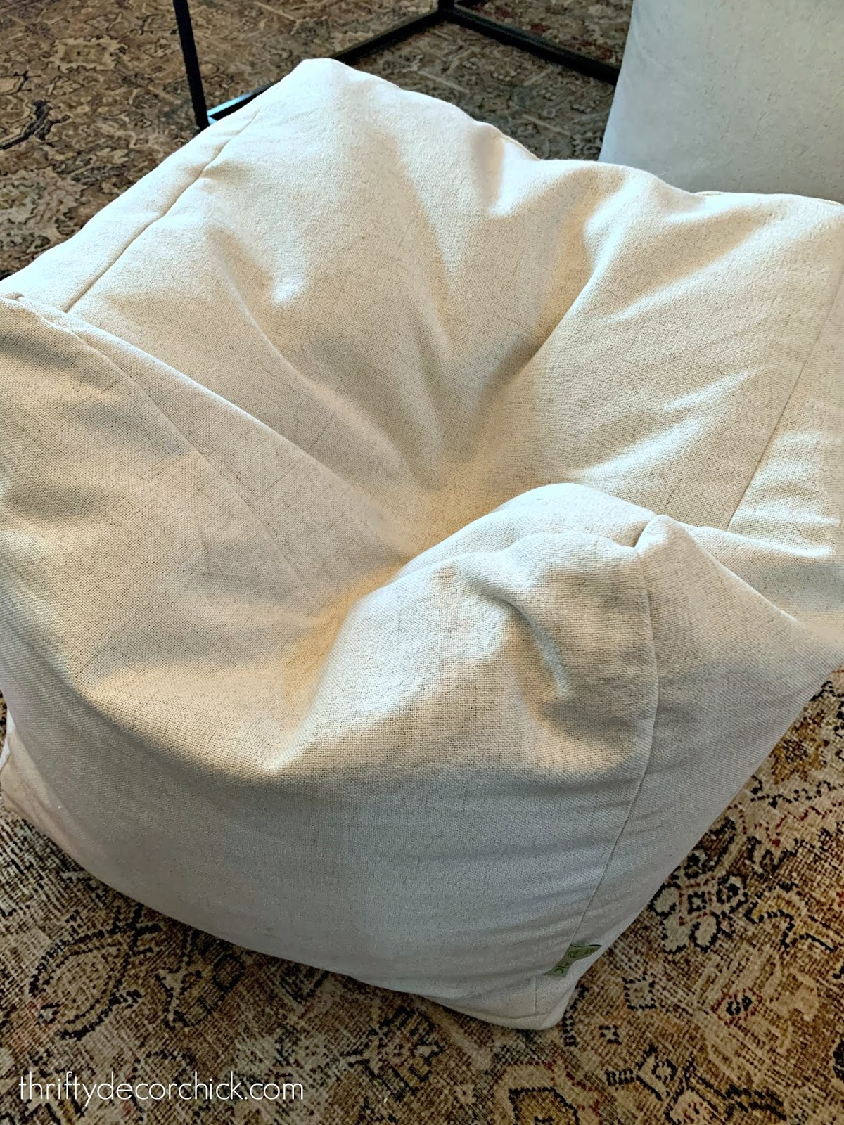 How to whirl up a sad, flat ottoman