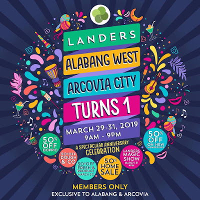 Landers anniversary sale at alabang & arcovia