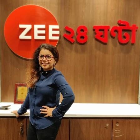 Wonder Munna in Zee 24 Ghanta Office