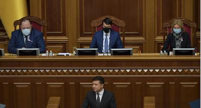 Зеленский выступил с посланием к Верховной Раде