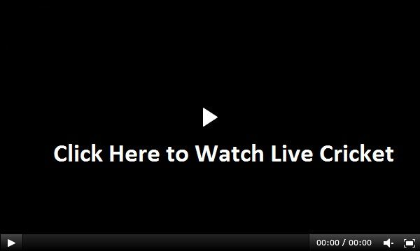 Watch Live Cricket Match Online