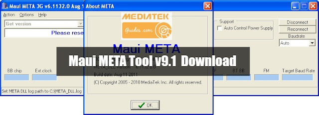 [IMEI Repair] Maui META Tool v9.1 for all Mediatek Download