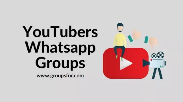 YouTubers Whatsapp Groups